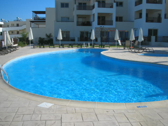 Cyprus Studio Apartment Rental - Pool Area