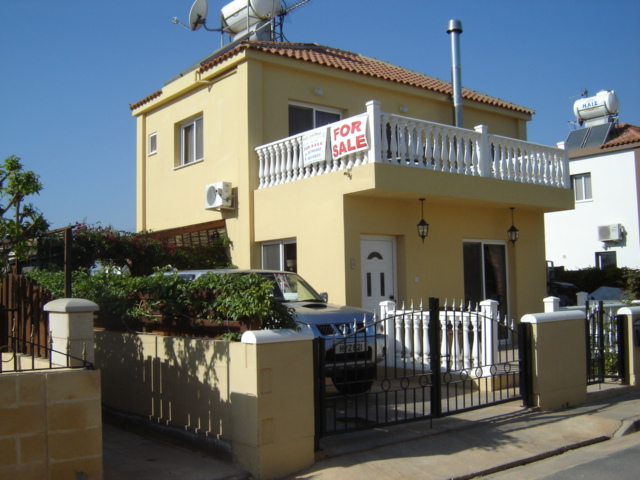 Ayia Thekla Villa For Sale - Front View
