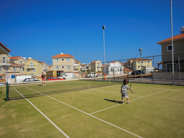 Kyklades Apartment Kapparis Tennis Court