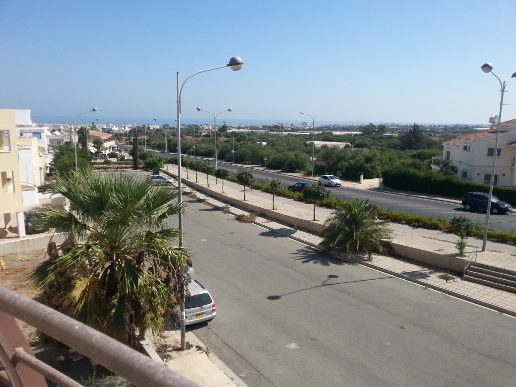 Two Bedroom Apartment With Huge Balcony For Rent in Paralimni